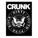 """Selo de Lil Jon """"Crunk """" Cartoes Postais"""