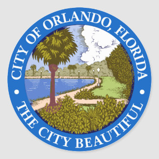 Selo de Orlando, Florida Adesivo
