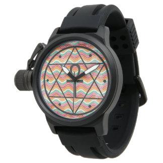 Selo de Solomon com o relógio de borracha da