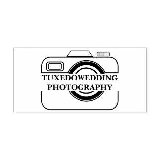 Selo decobertura do ícone da câmera do fotógrafo carimbo auto entintado
