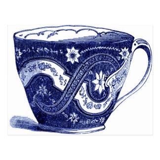 selo digital livre - teacup image_blue.jpg do cartão postal