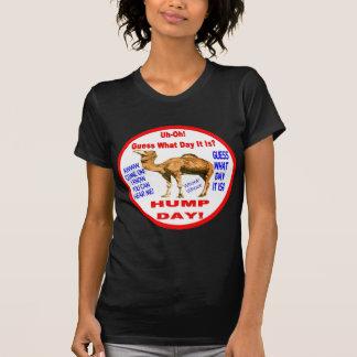 Selo do camelo do dia de corcunda camiseta