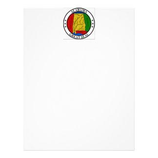 Selo do estado de Alabama Papeis De Carta Personalizados