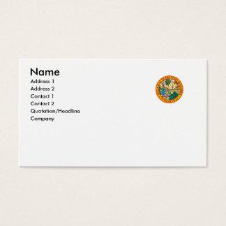 Selo do estado de Florida Cartão De Visitas
