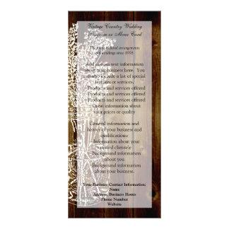 Selo do frasco de pedreiro na prancha de madeira 10.16 x 22.86cm panfleto