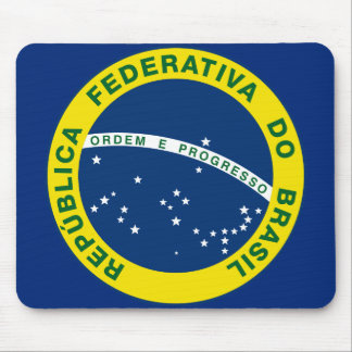 selo do nacional de Brasil Mouse Pad