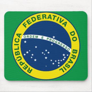 selo do nacional de Brasil Mousepad