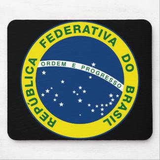 selo do nacional de Brasil Mouse Pads
