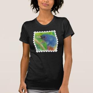 Selo do pássaro do primavera das mulheres camiseta