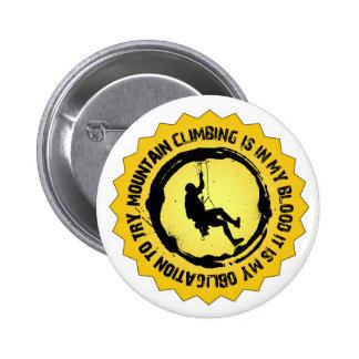 Selo fantástico do alpinismo botons