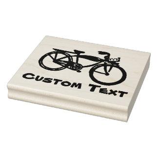 Selo feito sob encomenda da bicicleta carimbo de borracha