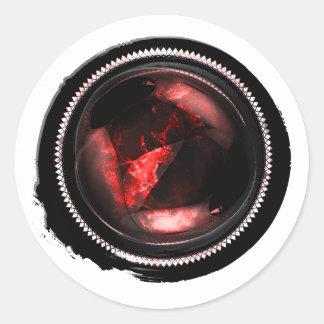 Selo místico da crista do Opal do rubi da cera Adesivo Redondo