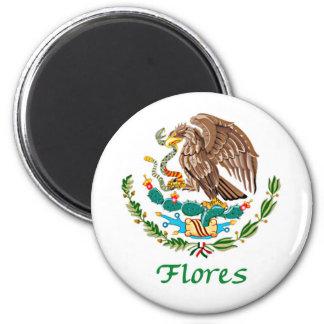 Selo nacional mexicano de Flores Ima