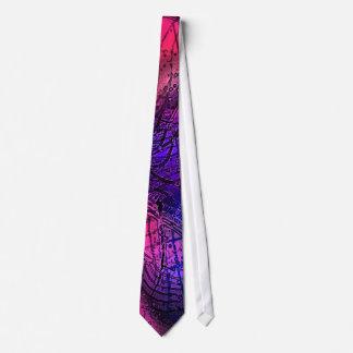 Selo postal abstrato gravata