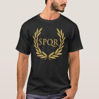 Selo romano do Senado de Roma SPQR Camiseta