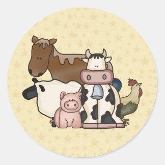 Adesivos de animais na Zazzle.