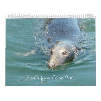 Selos do calendário de Cape Cod