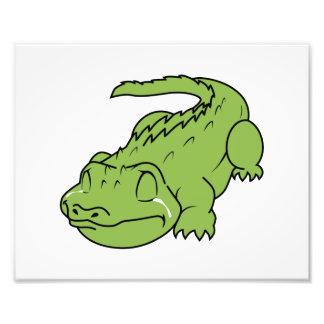 Selos verdes de grito do convite dos rasgos de impressão fotográfica