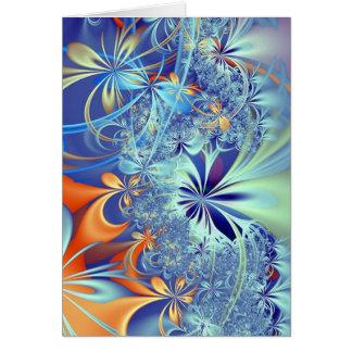 Selva (cartão). cartão comemorativo
