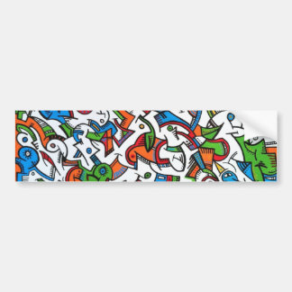 Selva colorida adesivo para carro