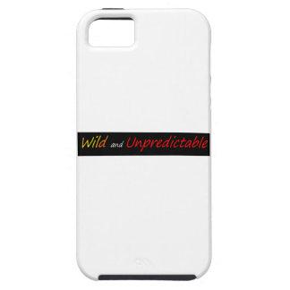Selvagem e imprevisível capa para iPhone 5