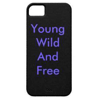 Selvagem e livre novos capa barely there para iPhone 5