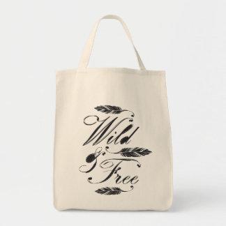 Selvagem livre bolsas para compras