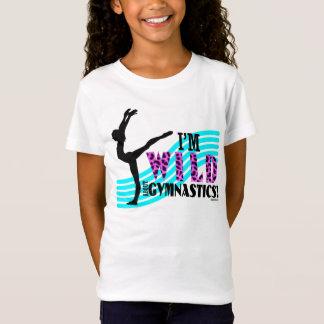 Selvagem sobre a ginástica camiseta