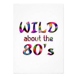 Selvagem sobre o anos 80