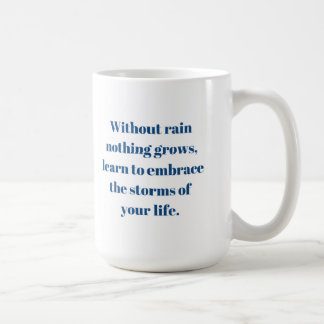 Sem chuva nada cresce a caneca