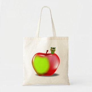 Sem-fim em um saco de Apple Bolsa De Lona