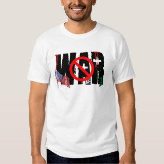 Sem guerra! t-shirts