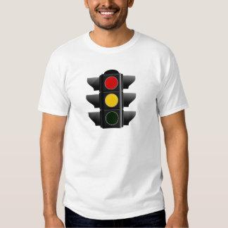 Semáforo traffic leve vermelho amarelo conversas y tshirts
