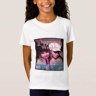 Semanário personalizado do adolescente camiseta