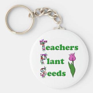 Sementes da planta dos professores chaveiro
