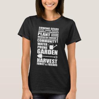 Sementes de jardinagem da sementeira que lavram o camiseta