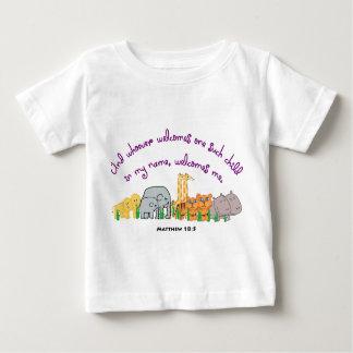 Sementes do sicômoro - 18:5 de Matthew Camiseta Para Bebê
