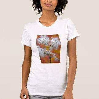 Sementes no outono, Canadá do Milkweed Camiseta