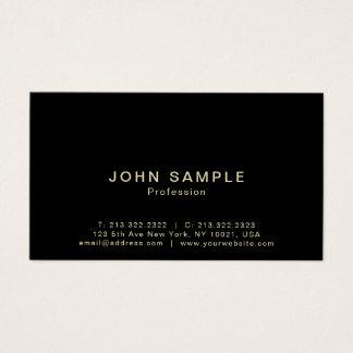 Semi brilho criativo elegante profissional moderno cartão de visitas