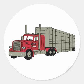 Semi caminhão adesivo