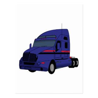 Semi caminhão cartão postal