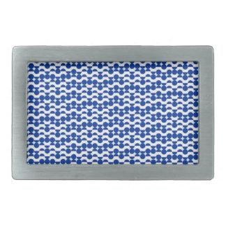 semi mosaico do azul do círculo