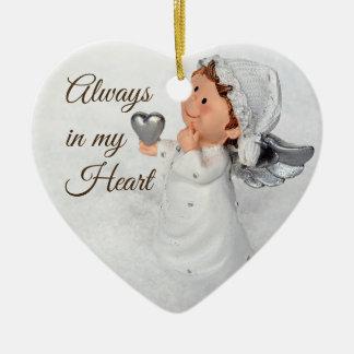 Sempre em meu ornamento do coração