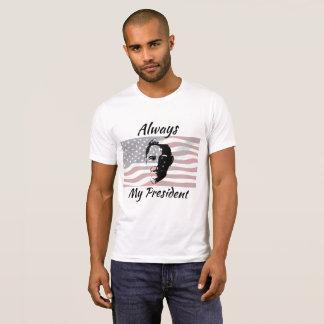 Sempre minha camisa da bandeira americana do