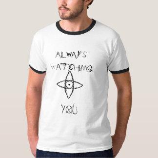 Sempre olhando camiseta