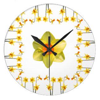 Sempre primavera relógios para paredes