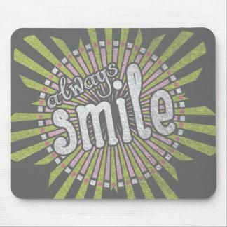 Sempre sorriso mousepad