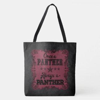 Sempre um bolsa personalizado pantera