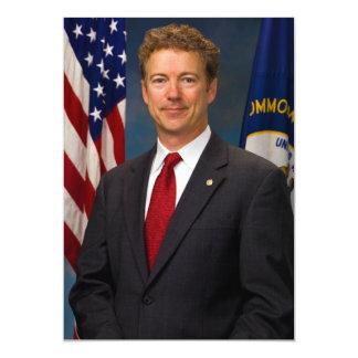 Senador oficial Margem Paul Retrato de Kentucky Convite 12.7 X 17.78cm