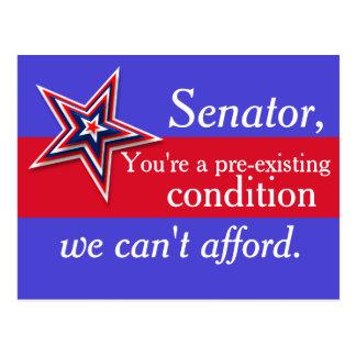Senador Pre-Existente Cartão